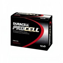 D Duracell / Procell 12-Pack