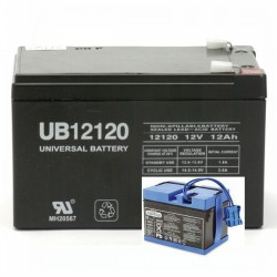DMU12-12 Peg Perego Replacement Battery