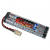 9.6V Flat Airsoft Battery w/ Large Tamiya