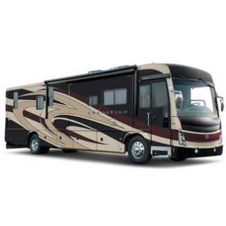 Typical RV that uses Deep Cycle Batteries